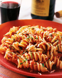 Fusilli with Summer Tomato Sauce