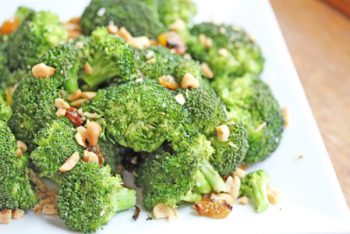 Broccoli Salad with Toasted Almonds