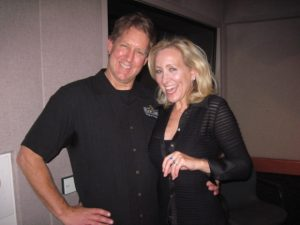 BILL WILSON AND THE BIKINI CHEF AT KABC STUDIOS