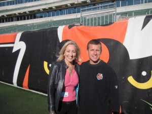 Cincinnati Bengals Chip Morton and The Bikini Chef