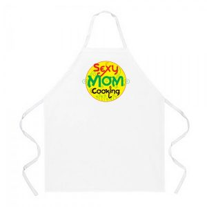 Sexy Mom Cooking Apron
