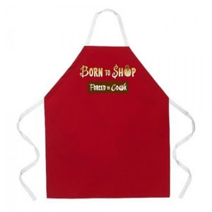 Born To Shop Apron