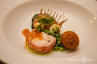 RABBIT WITH MC GRATH FARMS ENGLISH PEAS