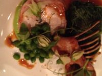 RABBIT WITH MCGRATH FARMS ENGLISH PEAS