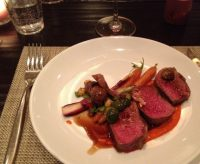 SONOMA LAMB WITH CARROTS AND  HARISSA