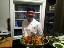 Chef Paul Buchanan of Primal Alchemy Catering