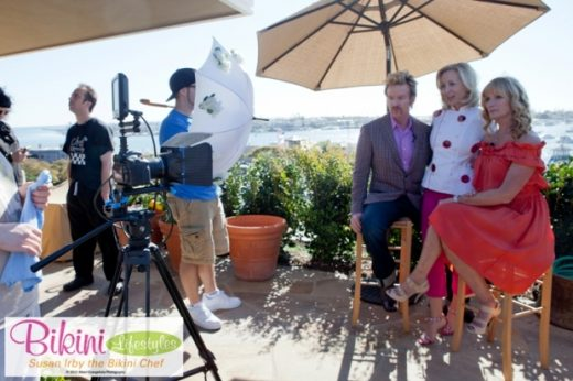 Filming Bikini Lifestyles TV in Newport Beach