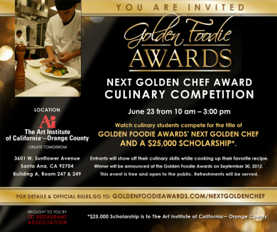 The Next Golden Chef Competition