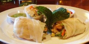 Lobster and Shrimp Spring Roll at Seasons 52