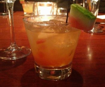 Watermelon Refresher Cocktail at Seasons 52