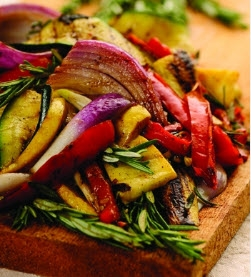 Grilled Vegetables by The Bikini Chef<sup><figcaption class=