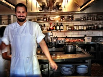 Chef Justin Miller of Pizzeria Ortica