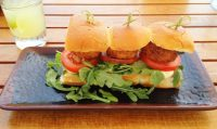 CrabCake Sliders at Nelsons Terranea Resort