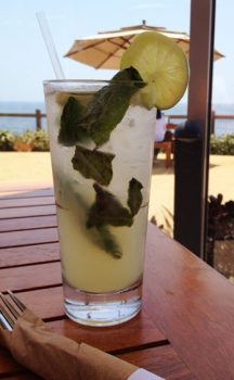 Refreshing Mint Cocktail from Nelsons Terranea Resort