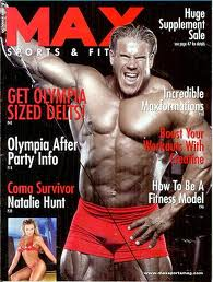 Max Muscle magazine