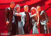 The Red Hots perform at the Emmys Governors Ball