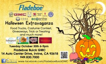 Fladeboe Automotive's Halloween Food Truck Event