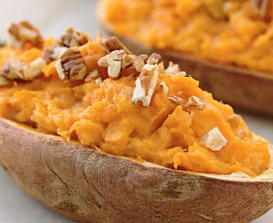 Baked Citrus Sweet Potatoes