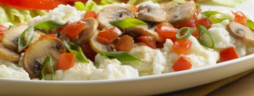 Egg Whites with Mushrooms