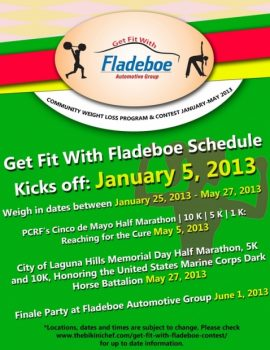 Get Fit With Fladeboe Schedule