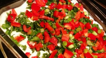 SOBikini Mexican Layer Dip