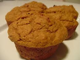 Protein Pumpkin Muffins with Flaxseed