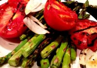 GRILLED VEGETABLES with HERB OLIVE OIL