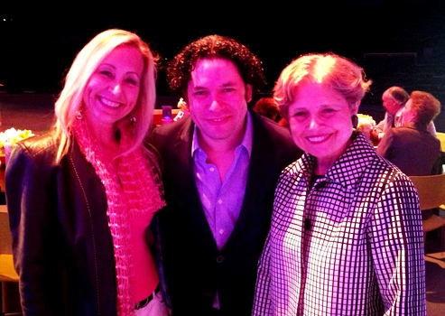 THE BIKINI CHEF WITH GUSTAVO DUDAMEL AND DEBORAH BORDA AT HOLLYWOOD BOWL