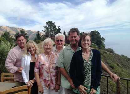 The Irby Jones Moore Family at Post Ranch Inn Big Sur
