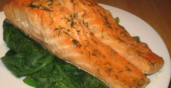 Soy Maple Salmon