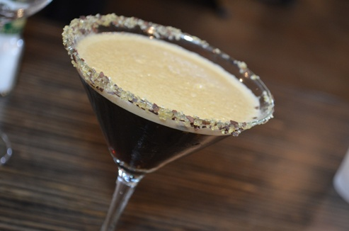 The Chocolate Martini from Bonefish Grill