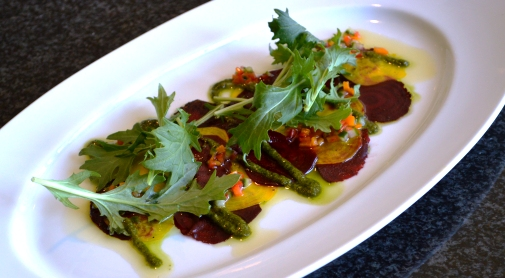 Beet Carpaccio from Chef Jacob Moss