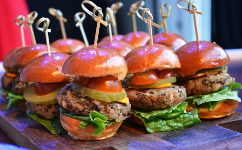 Vegetarian Sliders at the Hollywood Bowl