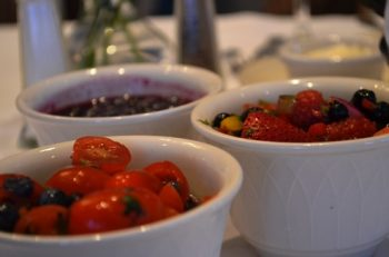 Wild Blueberry and Tomato Salsa