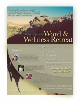Wine Country Word and Wellness Retreat
