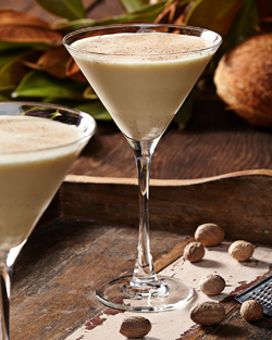 Coconut Eggnog Martini from Tommy Bahama