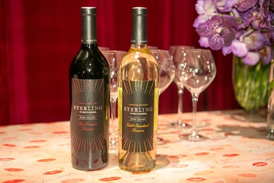 Sterling Red Carpet Reserve and Oscar Gold Standard wines