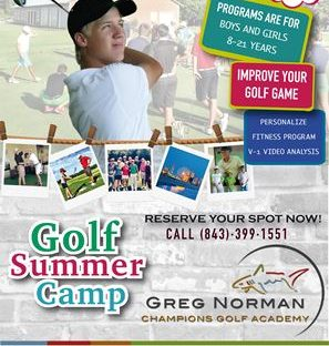 Greg Norman Golf Academy Summer Camps