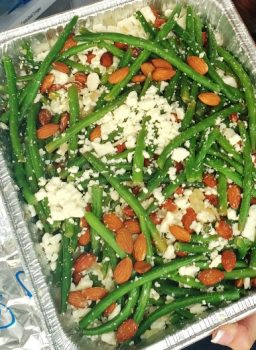 Sauteed Green Beans with Feta