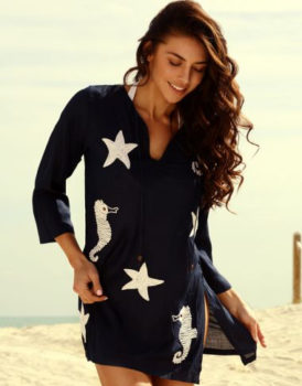 Barbara Gerwit beach cover up tunic